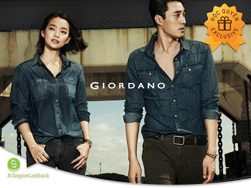 Clingme - Tặng 25% Thời trang Giordano
