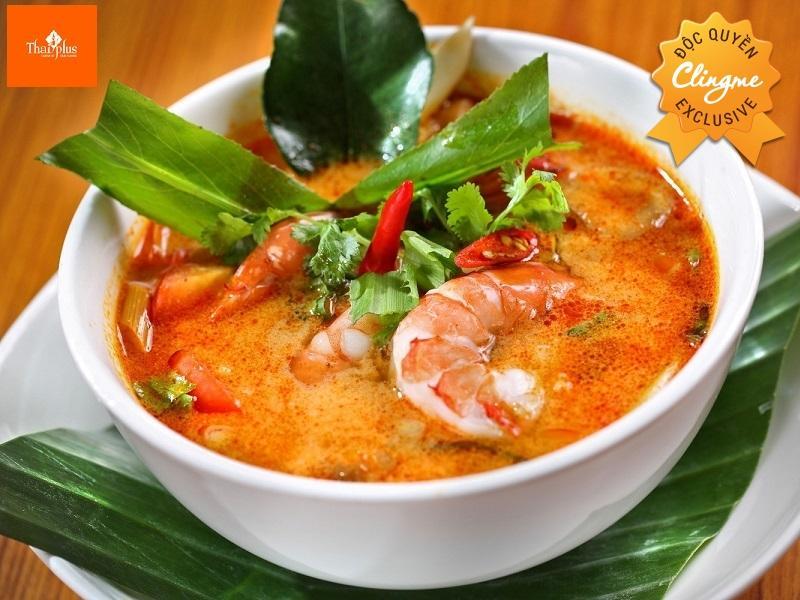 Clingme - Ưu đãi 10% Nhà hàng Thái Plus