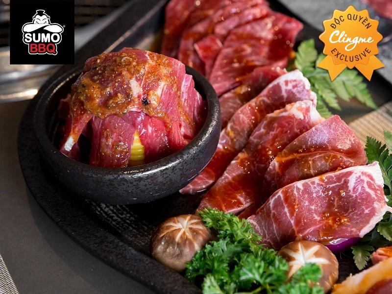 Clingme - Ưu đãi 10% Sumo BBQ