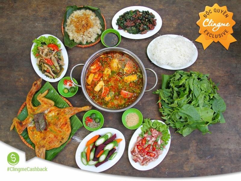 Clingme - Độc đáo Ẩm thực Lương Sơn Quán